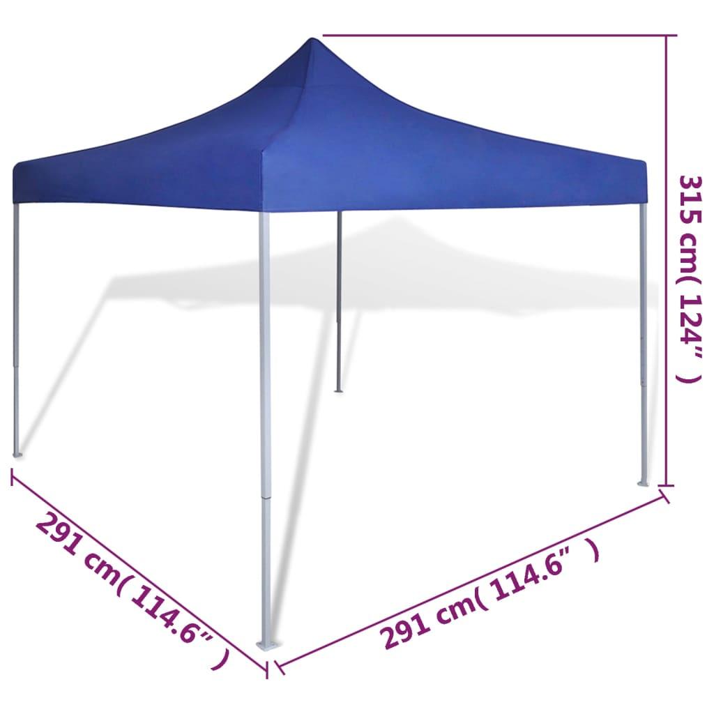 partyzelt berdachung faltbar wasserdicht 3 x 3 m blau g nstig kaufen. Black Bedroom Furniture Sets. Home Design Ideas