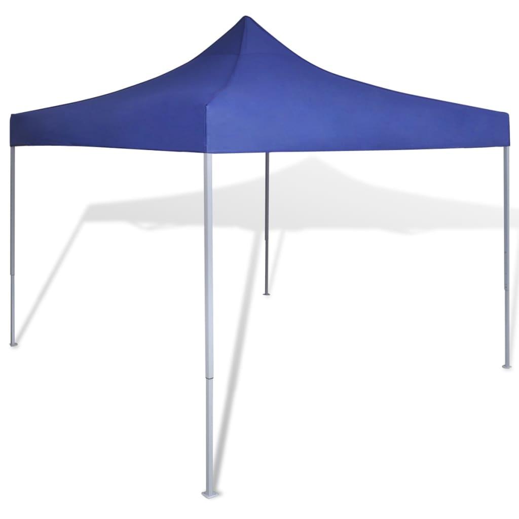 vidaXL kék összecsukható pavilon 3 x m