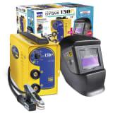 GYS Equipo de soldadura GYSMI 130P con máscara Techno 11 LED 10-130 A