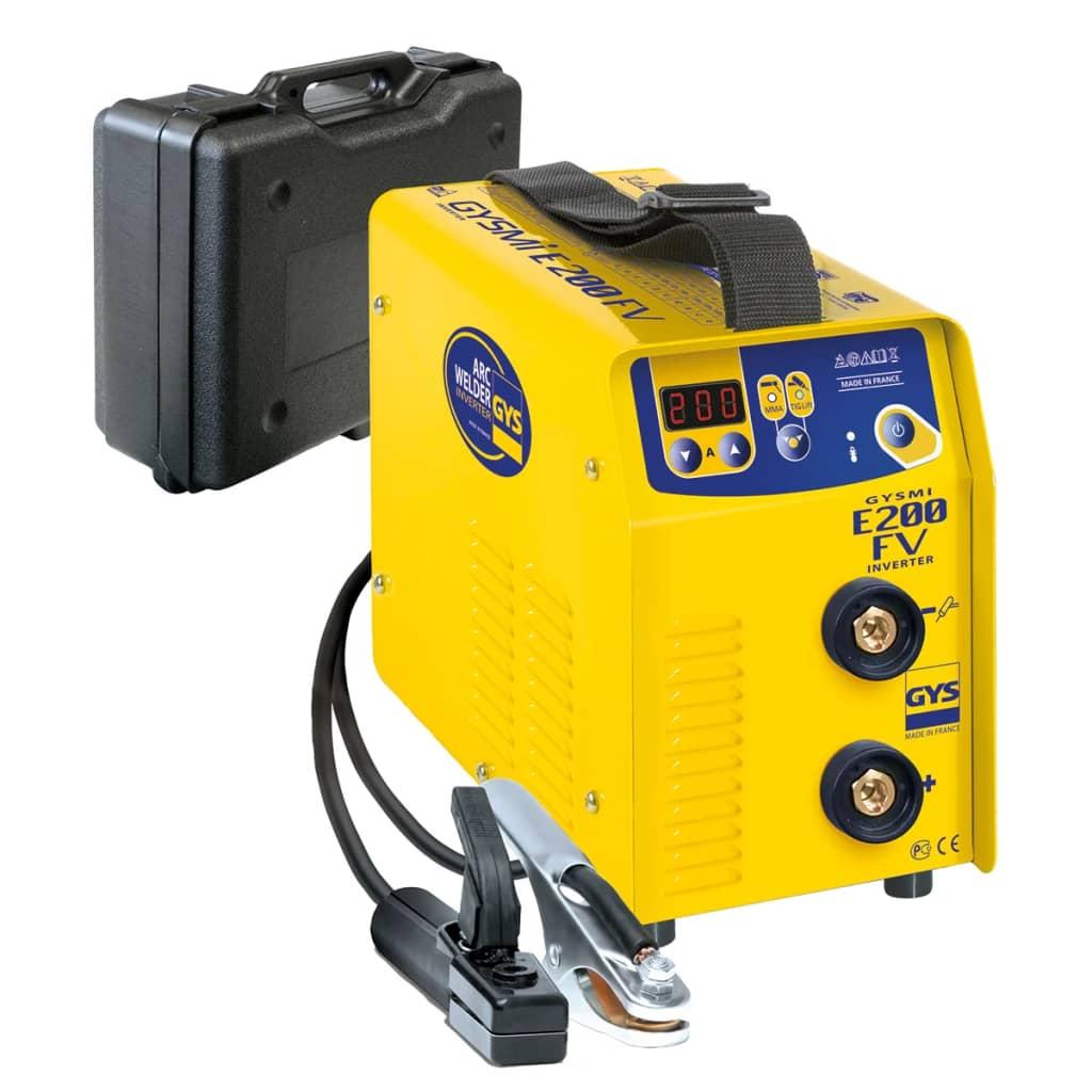 GYS Hegesztőgép tápegységgel GYSMI E200 FV 10-130/10-200 A