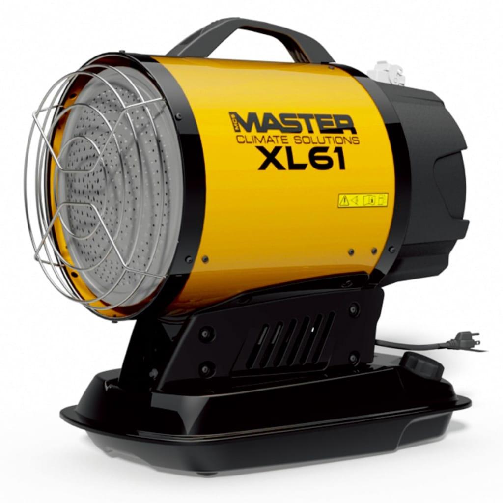 Master XL 61 gázolajos infravörös hőlégfúvó 17 kW
