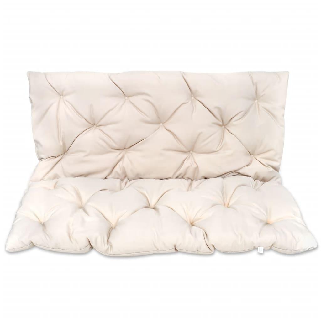 acheter coussin cr me pour balancelle 120 cm pas cher. Black Bedroom Furniture Sets. Home Design Ideas