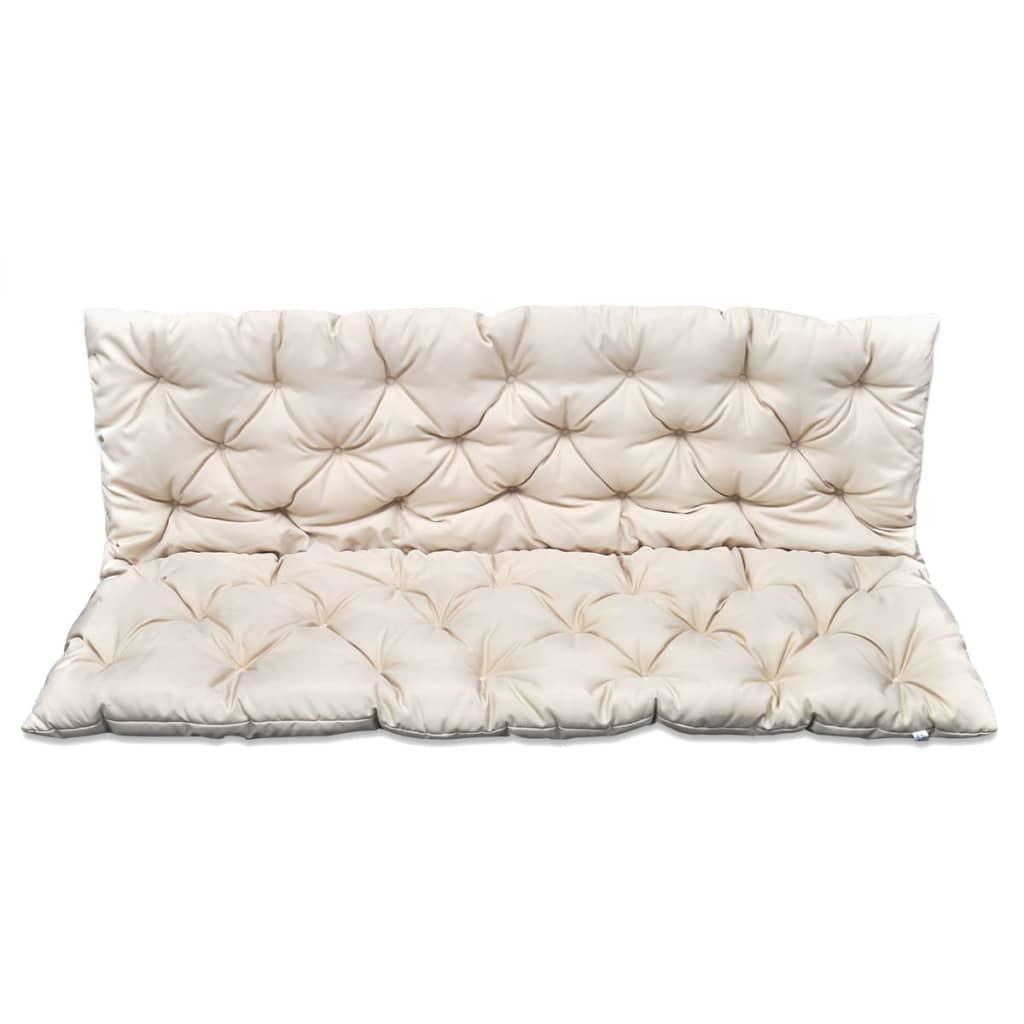 Coj n de balanc n para jard n color crema 150 cm tienda - Cojines para sofas de jardin ...