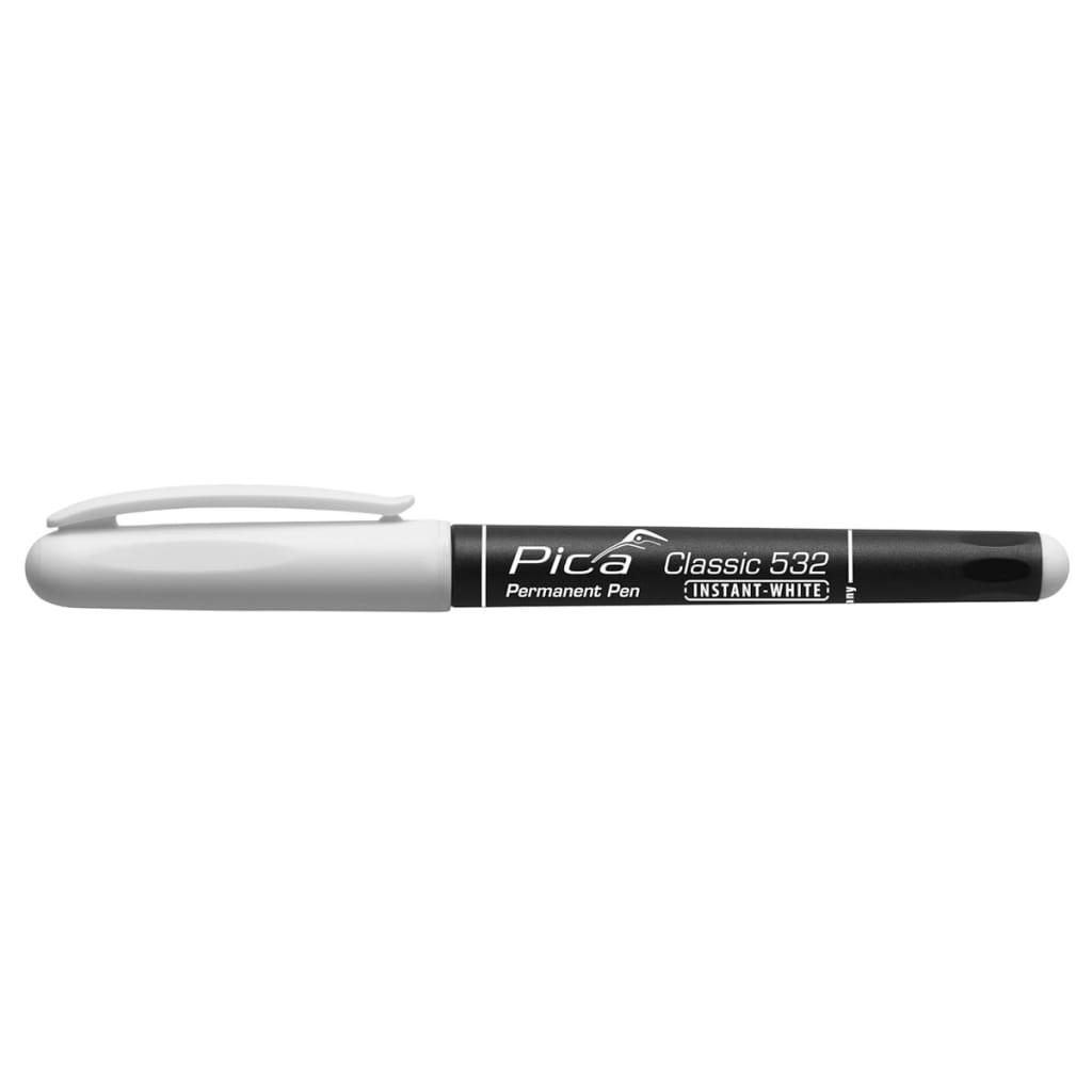 Afbeelding van Pica Classic Instant-White Permanente pen 1-2 mm rond