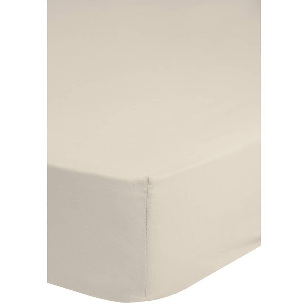 emotion spannbettlaken jersey 160 180x200 cm ecru g nstig kaufen. Black Bedroom Furniture Sets. Home Design Ideas