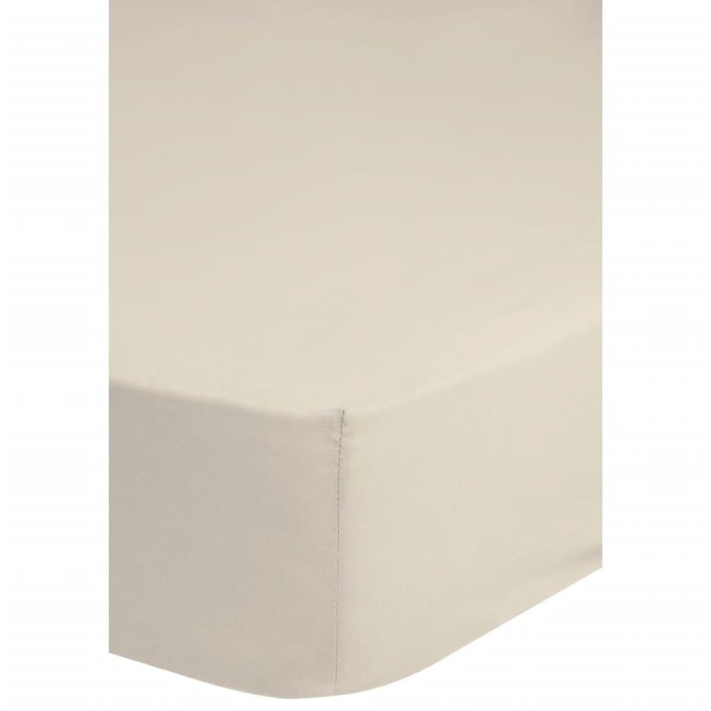 acheter emotion drap housse jersey 160 180 x 200 cm cru. Black Bedroom Furniture Sets. Home Design Ideas