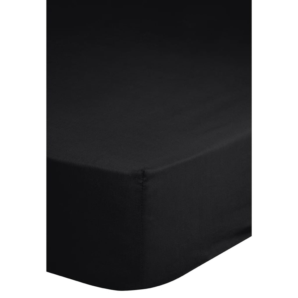 emotion spannbettlaken jersey 140x200 cm schwarz g nstig kaufen. Black Bedroom Furniture Sets. Home Design Ideas
