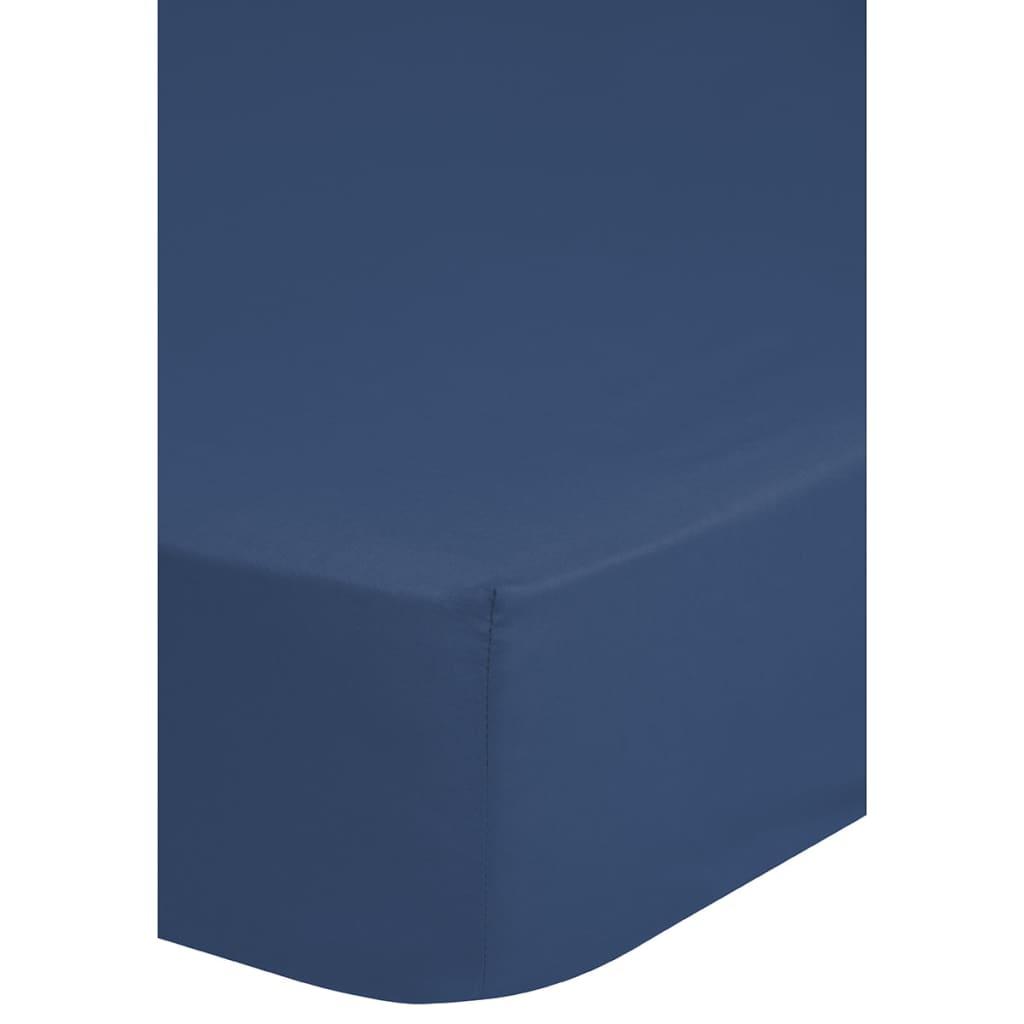 acheter emotion drap housse en jersey 90 100 x 200 cm bleu pas cher. Black Bedroom Furniture Sets. Home Design Ideas