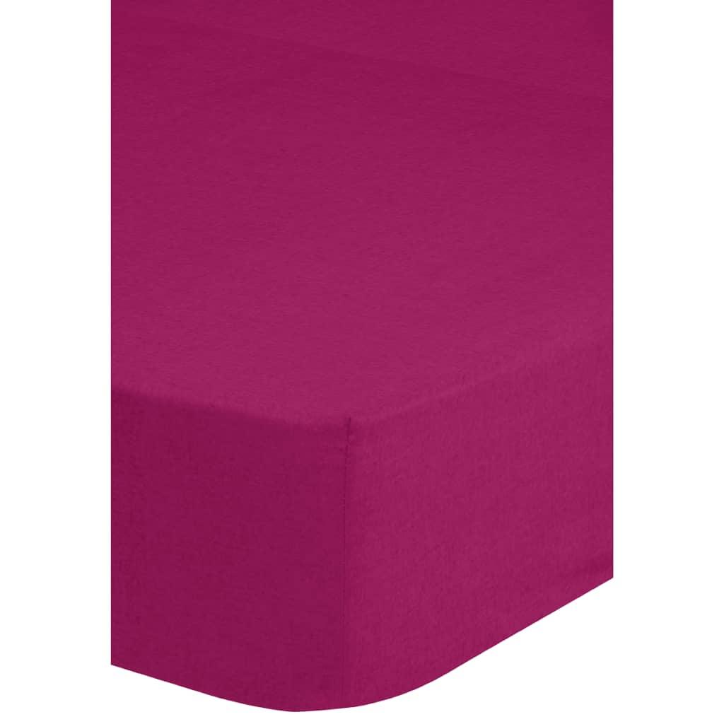 emotion drap housse en jersey 90 100 x 200 cm rose 0200. Black Bedroom Furniture Sets. Home Design Ideas