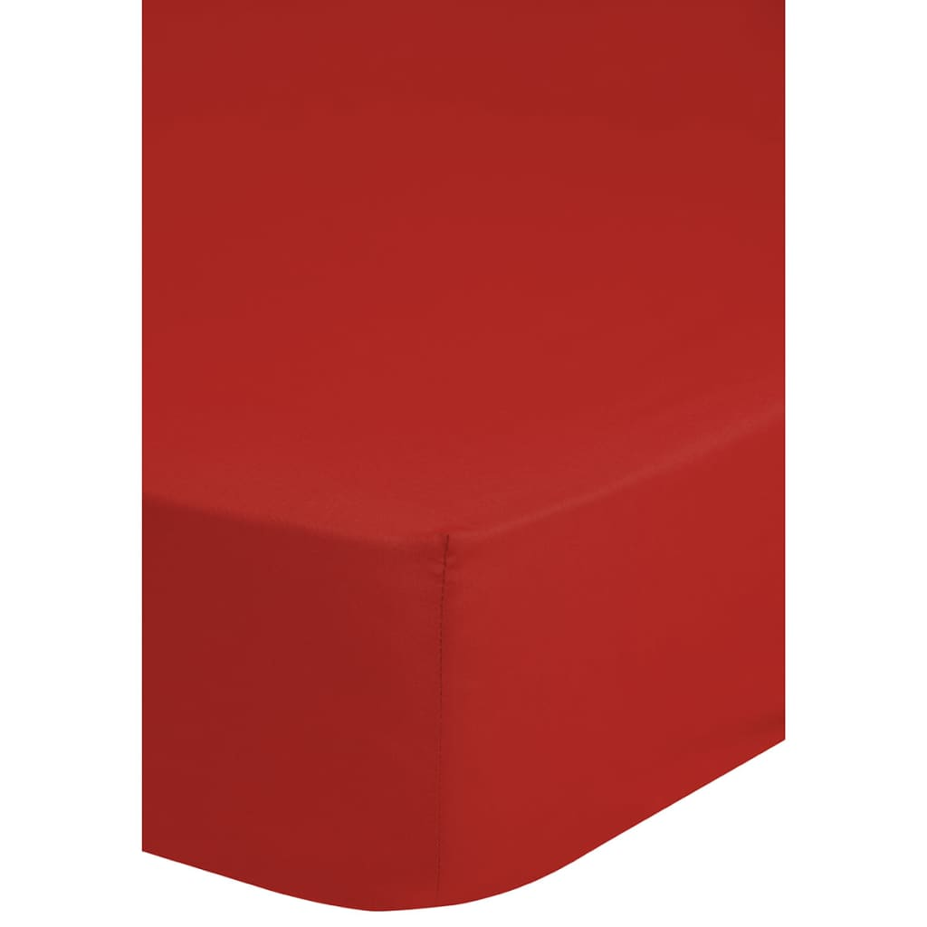 emotion drap housse en jersey 140 x 200 cm rouge. Black Bedroom Furniture Sets. Home Design Ideas