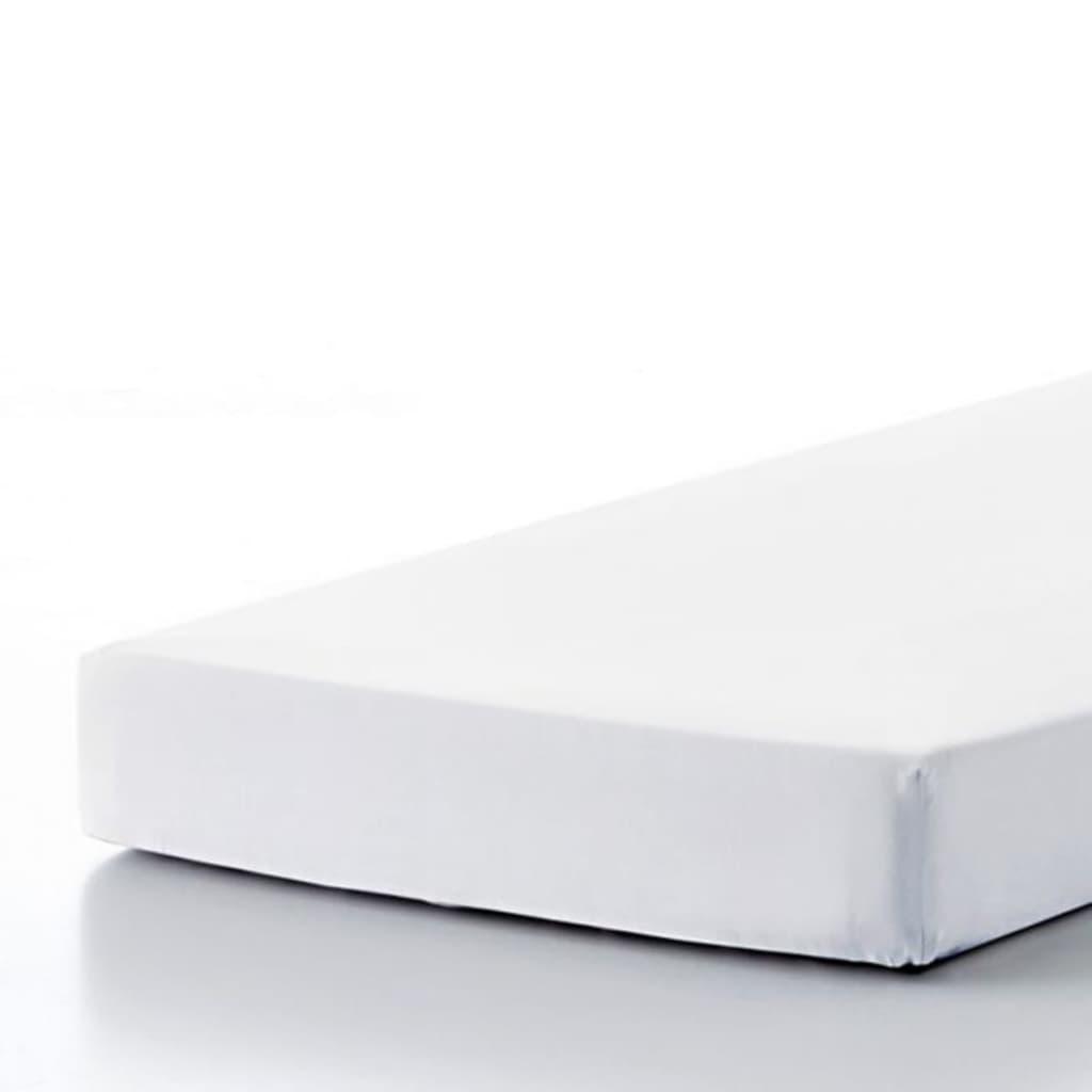 acheter emotion drap housse sans repassage 90 x 200 cm blanc pas cher. Black Bedroom Furniture Sets. Home Design Ideas