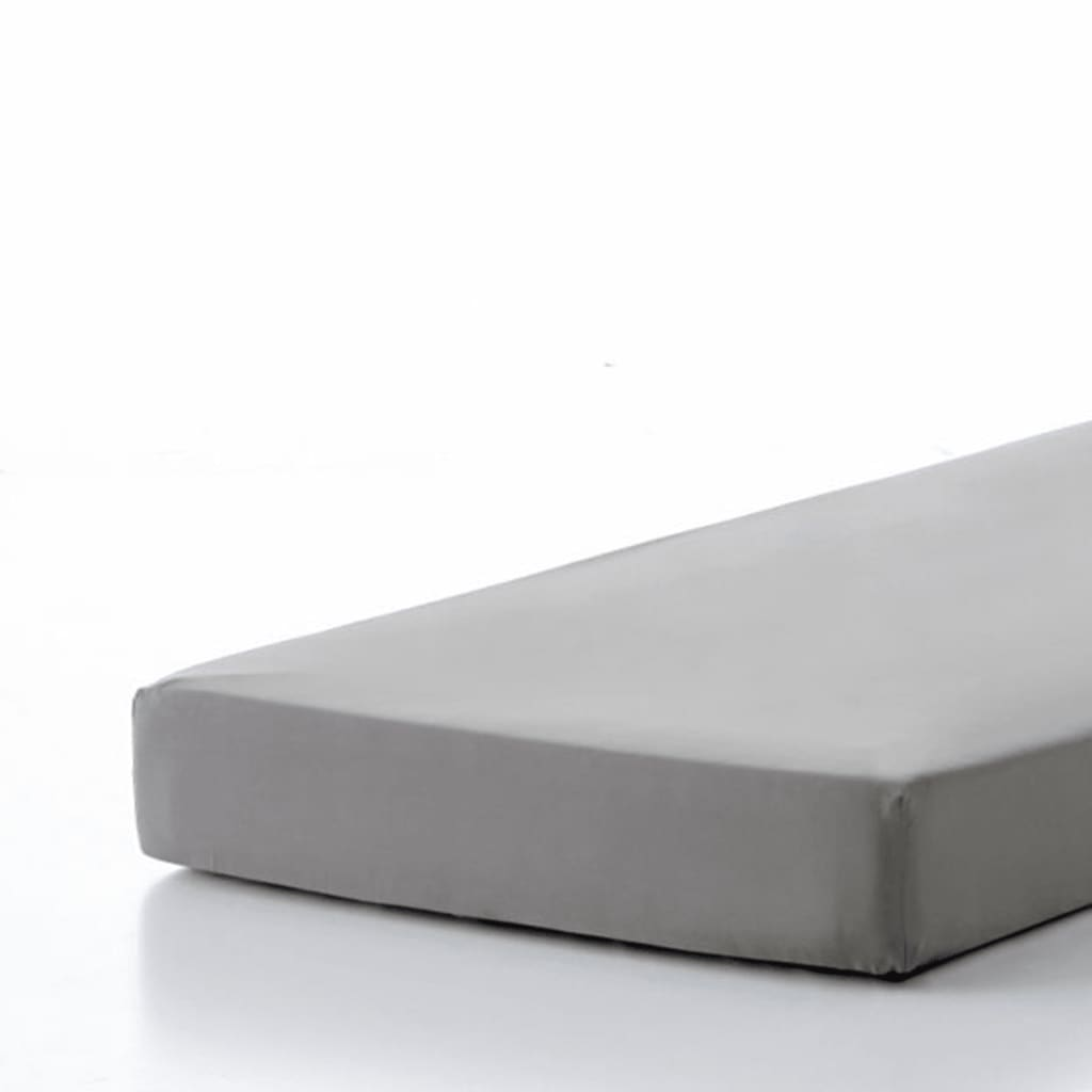 emotion drap housse sans repassage 80 x 200 cm gris. Black Bedroom Furniture Sets. Home Design Ideas