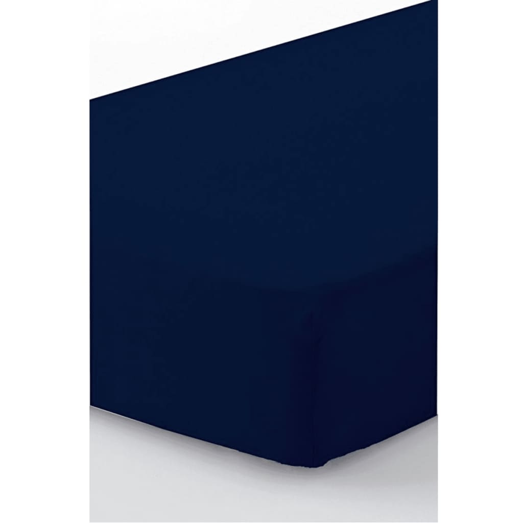 acheter emotion drap housse sans repassage 80 x 200 cm bleu pas cher. Black Bedroom Furniture Sets. Home Design Ideas