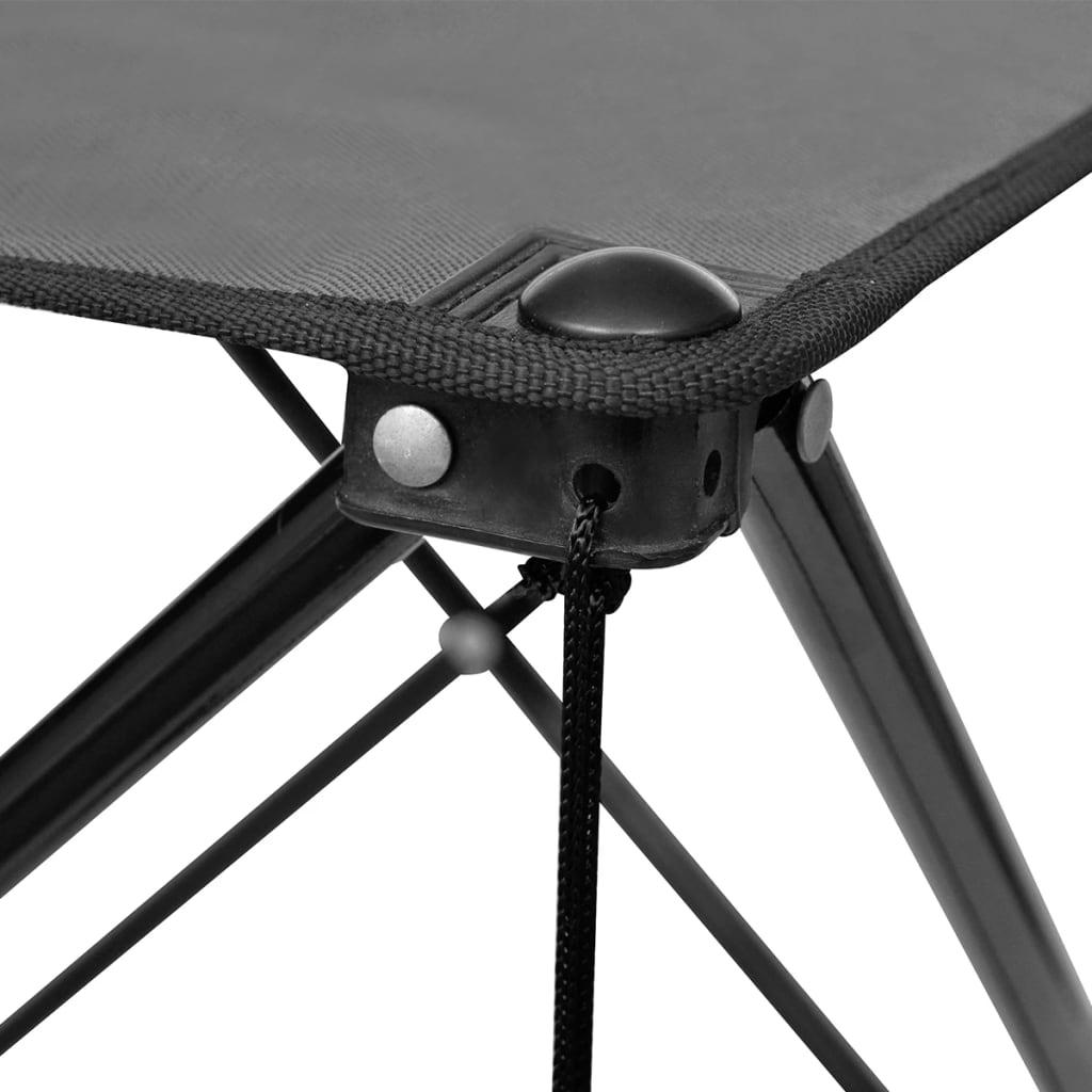 la boutique en ligne table de camping pliante grise. Black Bedroom Furniture Sets. Home Design Ideas