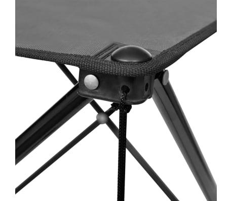 table de camping pliante grise. Black Bedroom Furniture Sets. Home Design Ideas