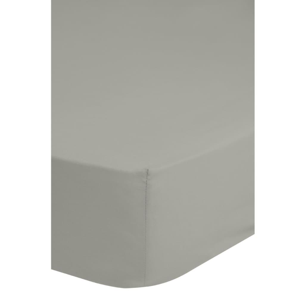 emotion b gelfreies spannbettlaken 180 x 200 cm hellgrau g nstig kaufen. Black Bedroom Furniture Sets. Home Design Ideas