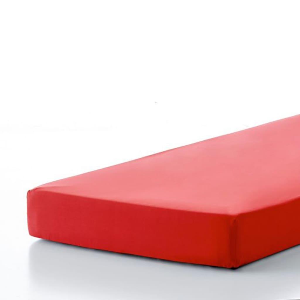 emotion b gelfreies spannbettlaken 90 x 220 cm rot. Black Bedroom Furniture Sets. Home Design Ideas