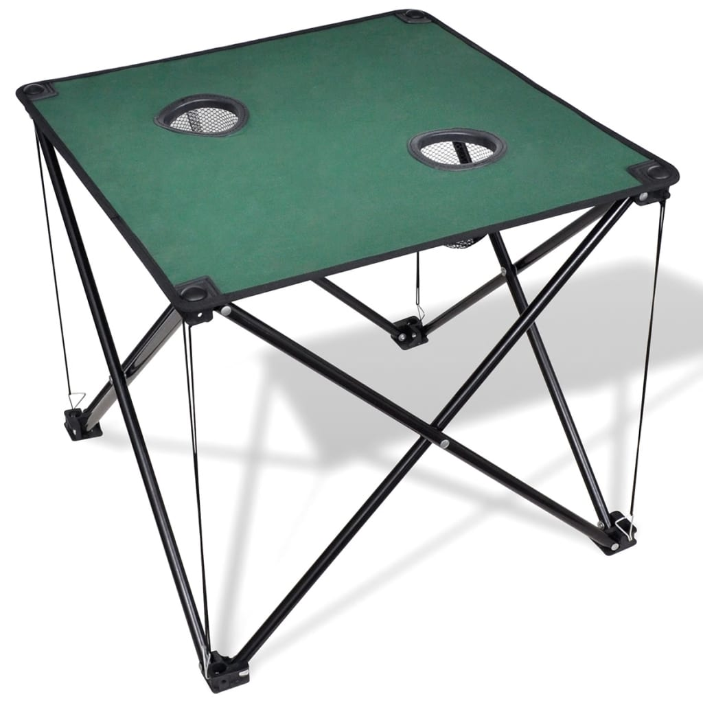 la boutique en ligne table de camping pliante vert fonc. Black Bedroom Furniture Sets. Home Design Ideas