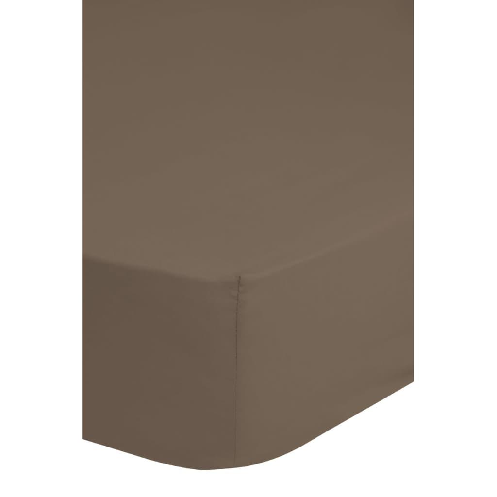 acheter emotion drap housse sans repassage 160 x 200 cm taupe pas cher. Black Bedroom Furniture Sets. Home Design Ideas