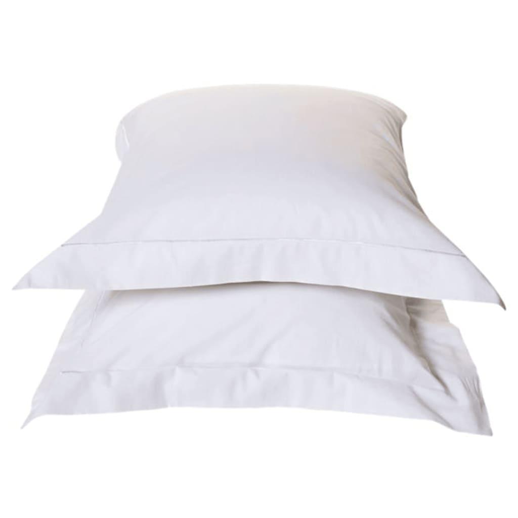 emotion taie d 39 oreiller sans repassage 2 pcs 60x70cm blanc. Black Bedroom Furniture Sets. Home Design Ideas