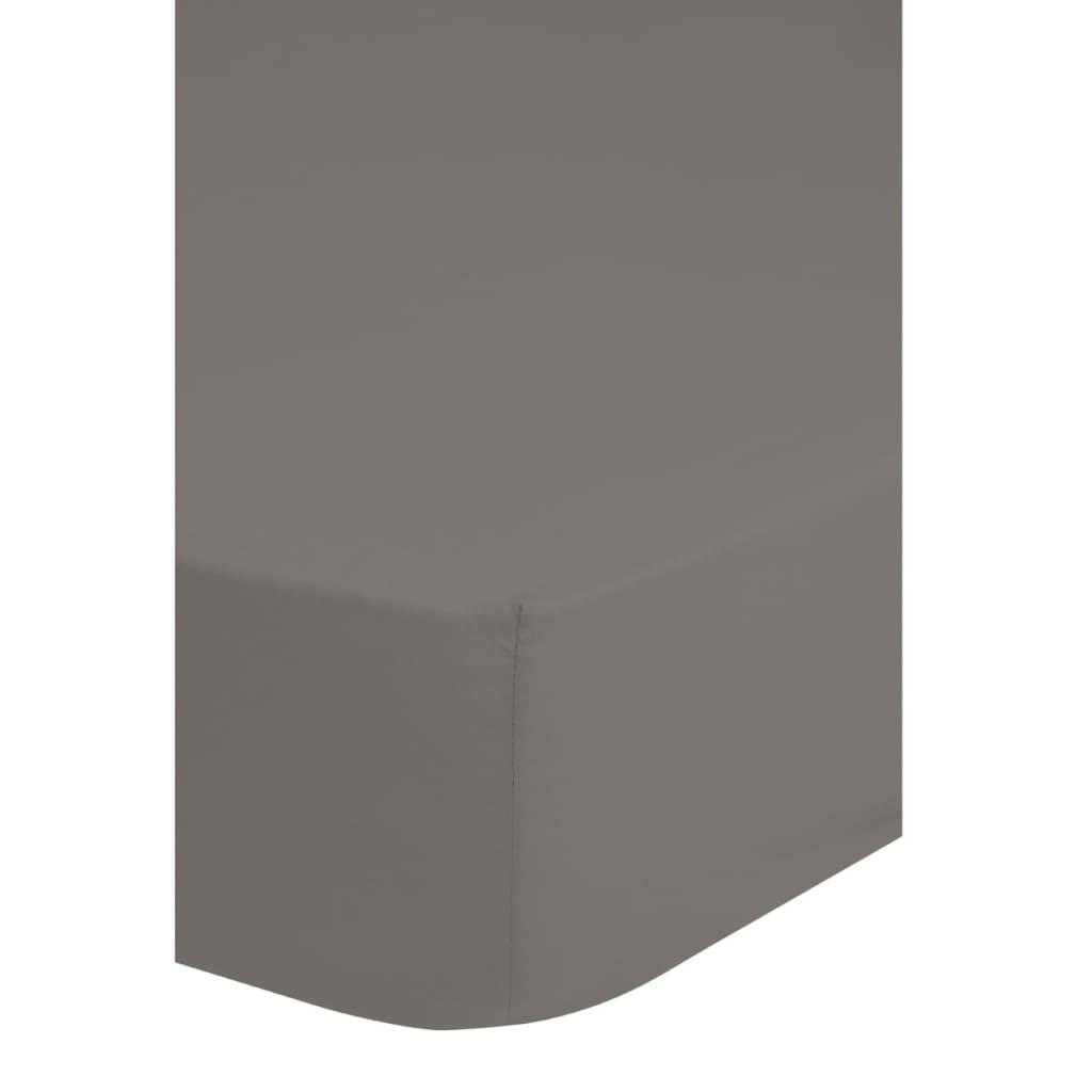 Afbeelding van Descanso Hoeslaken dubbelzijdig jersey 90/100x200 cm grijs 0215.03.42