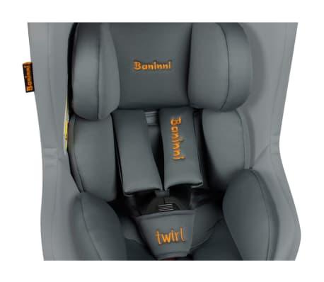 baninni si ge de voiture twirl 360 isofix 0 1 gris bncs021 gy. Black Bedroom Furniture Sets. Home Design Ideas