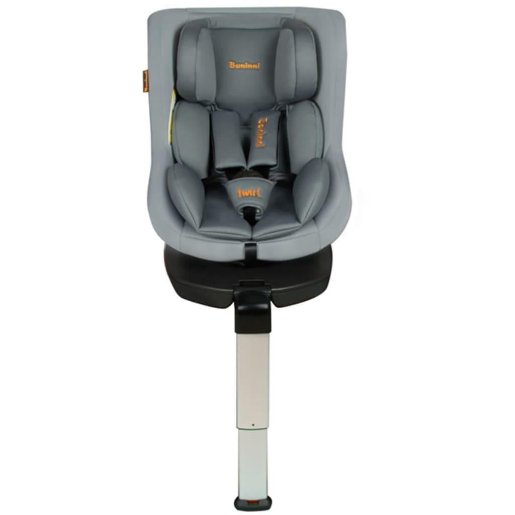 Afbeelding van Baninni Autostoel Twirl 360 Isofix 0+1 grijs BNCS021-GY