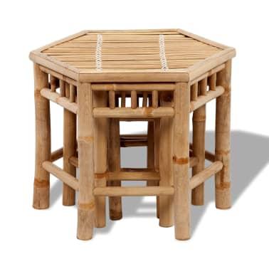 Bambus-Stuhl-Set 3-teilig[2/4]