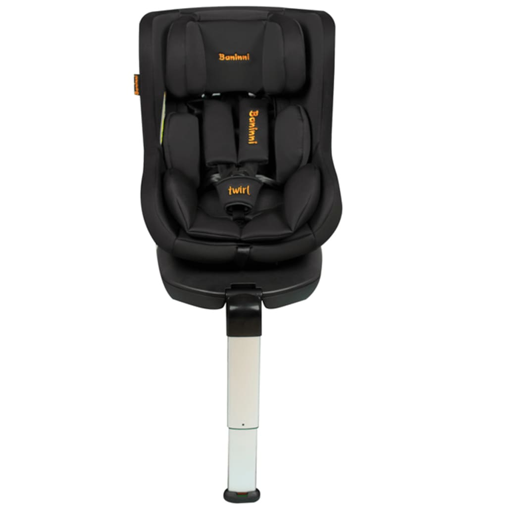 Afbeelding van Baninni Autostoel Twirl 360 Isofix 0+1 zwart BNCS021-BK