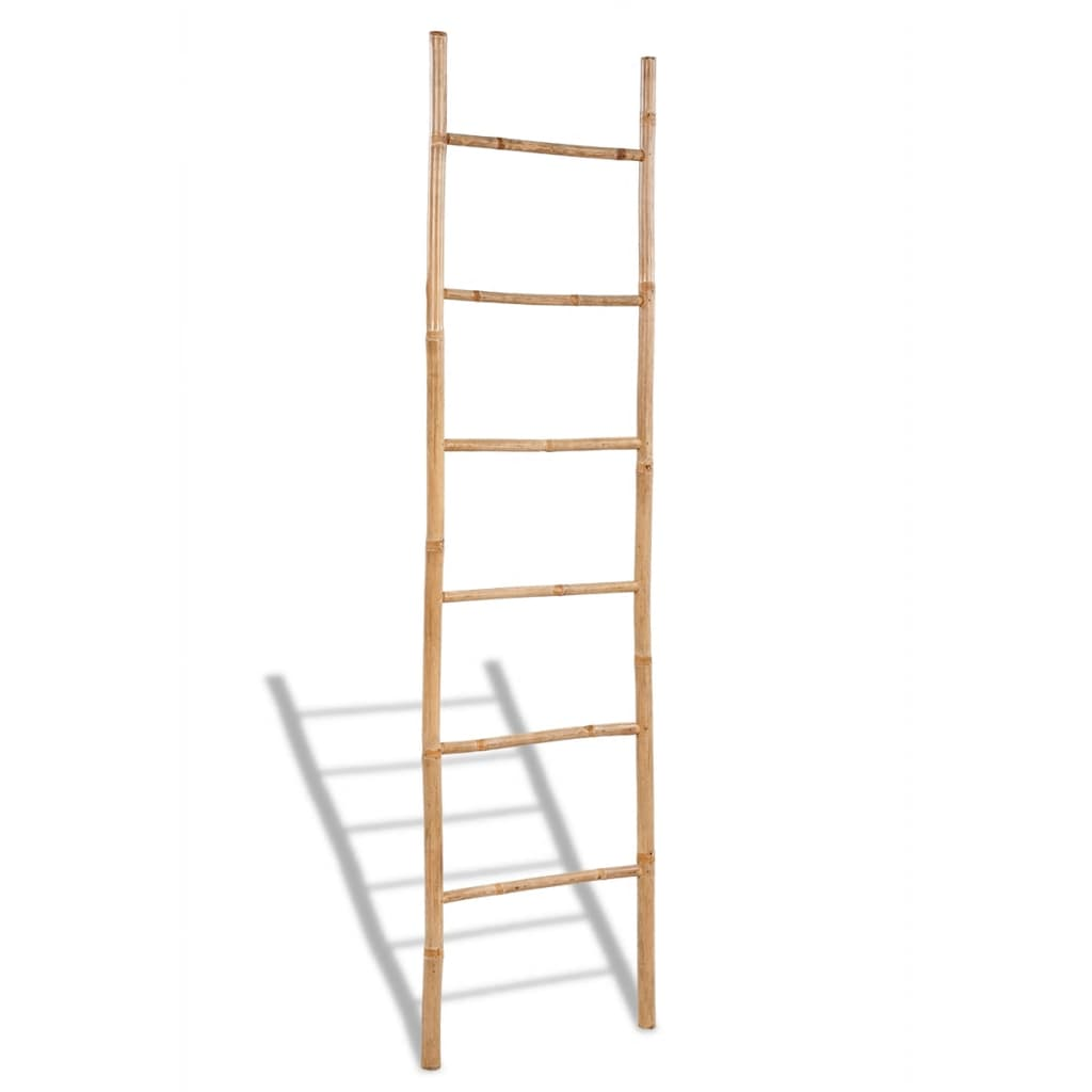 vidaxl-bamboo-towel-ladder-with-6-rungs