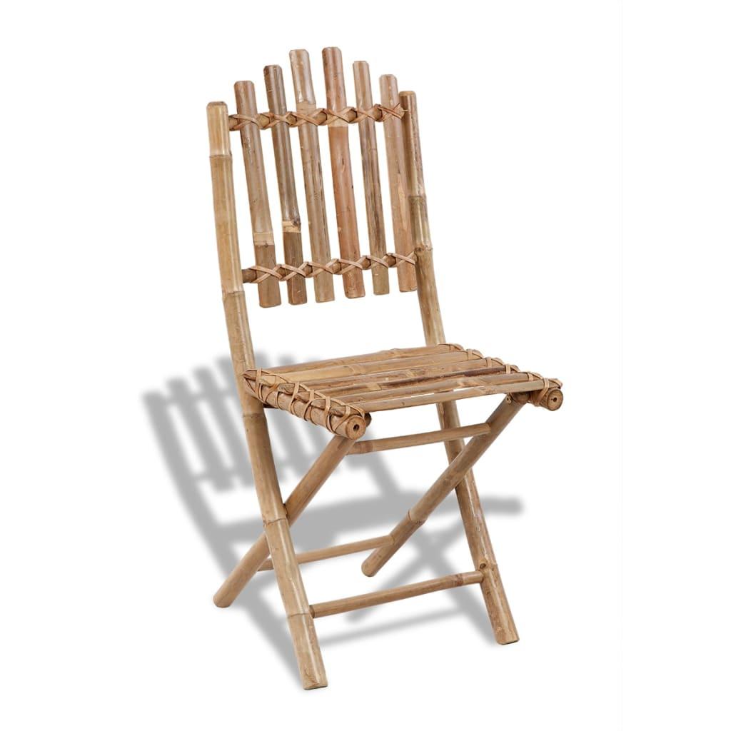 gartenst hle bambus faltbar 2 st ck g nstig kaufen. Black Bedroom Furniture Sets. Home Design Ideas
