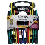 Master Lock Ten Piece Bungee Cord Set Twin Wire 3043EURDAT