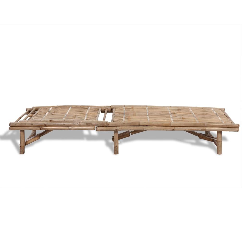 einstellbare bambus sonnenliege g nstig kaufen. Black Bedroom Furniture Sets. Home Design Ideas