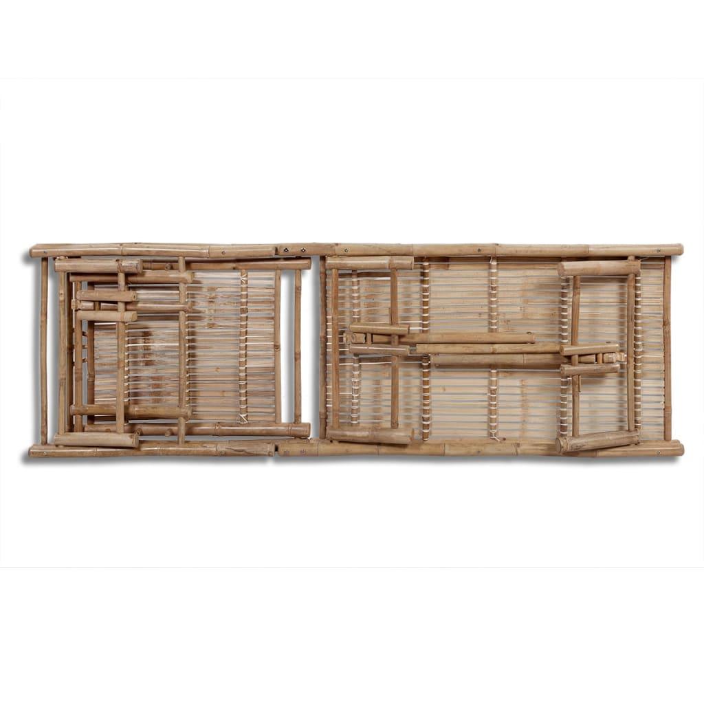 La boutique en ligne bain de soleil ajustable en bambou for Bain de soleil en solde