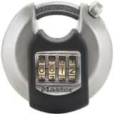 Master Lock Discus Padlock Excell Stainless Steel 70 mm M40EURDNUM