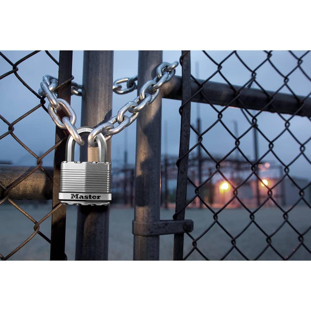 Laminated Steel Pipe ~ Master lock padlock excell laminated steel mm m eurd
