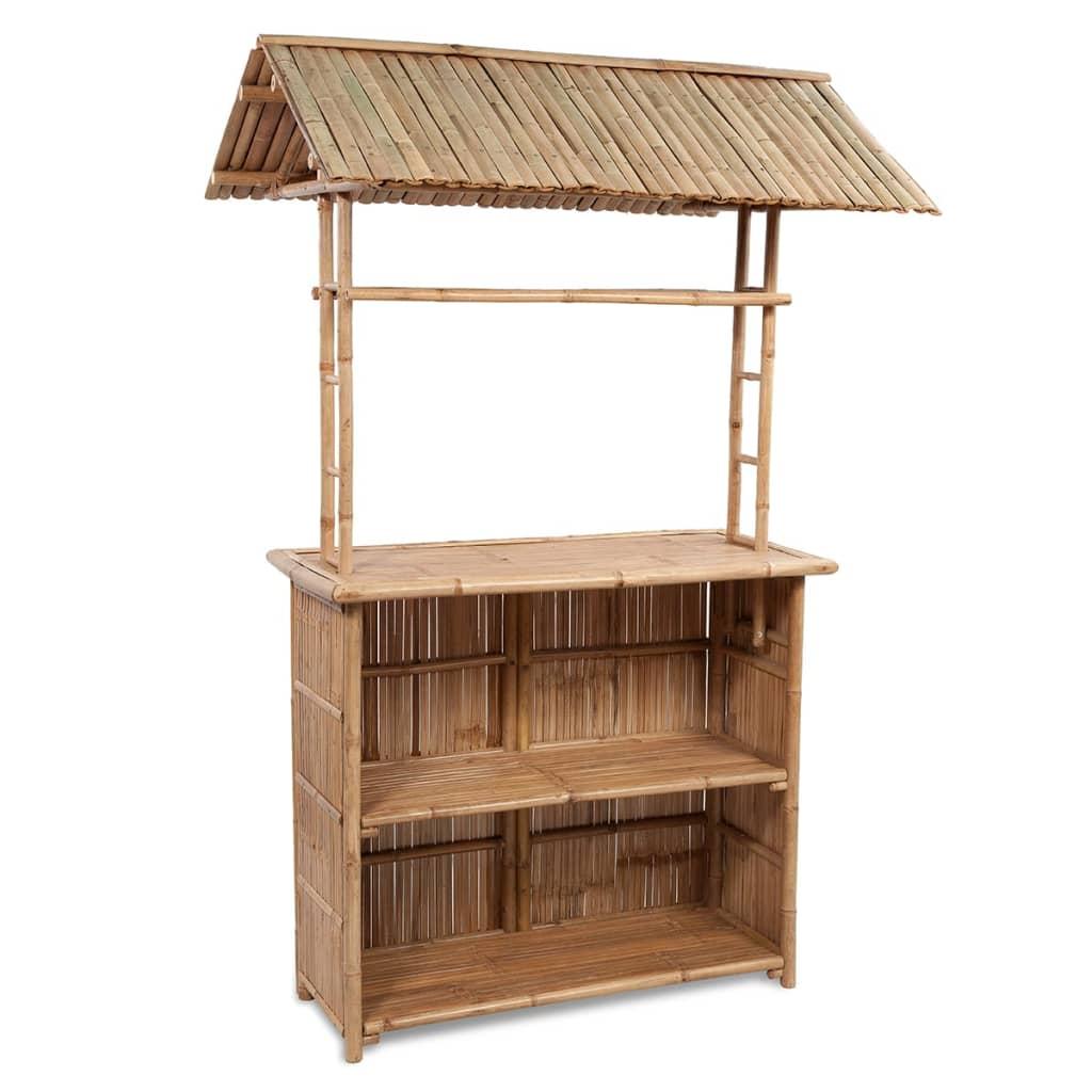 La boutique en ligne ensemble bar avec 2 tabourets de bar en bambou - Vente de bambou en ligne ...