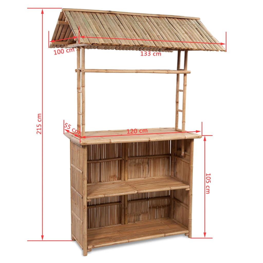 Bambus Barset 2 Stühle + 1 Tisch günstig kaufen   vidaXL.de