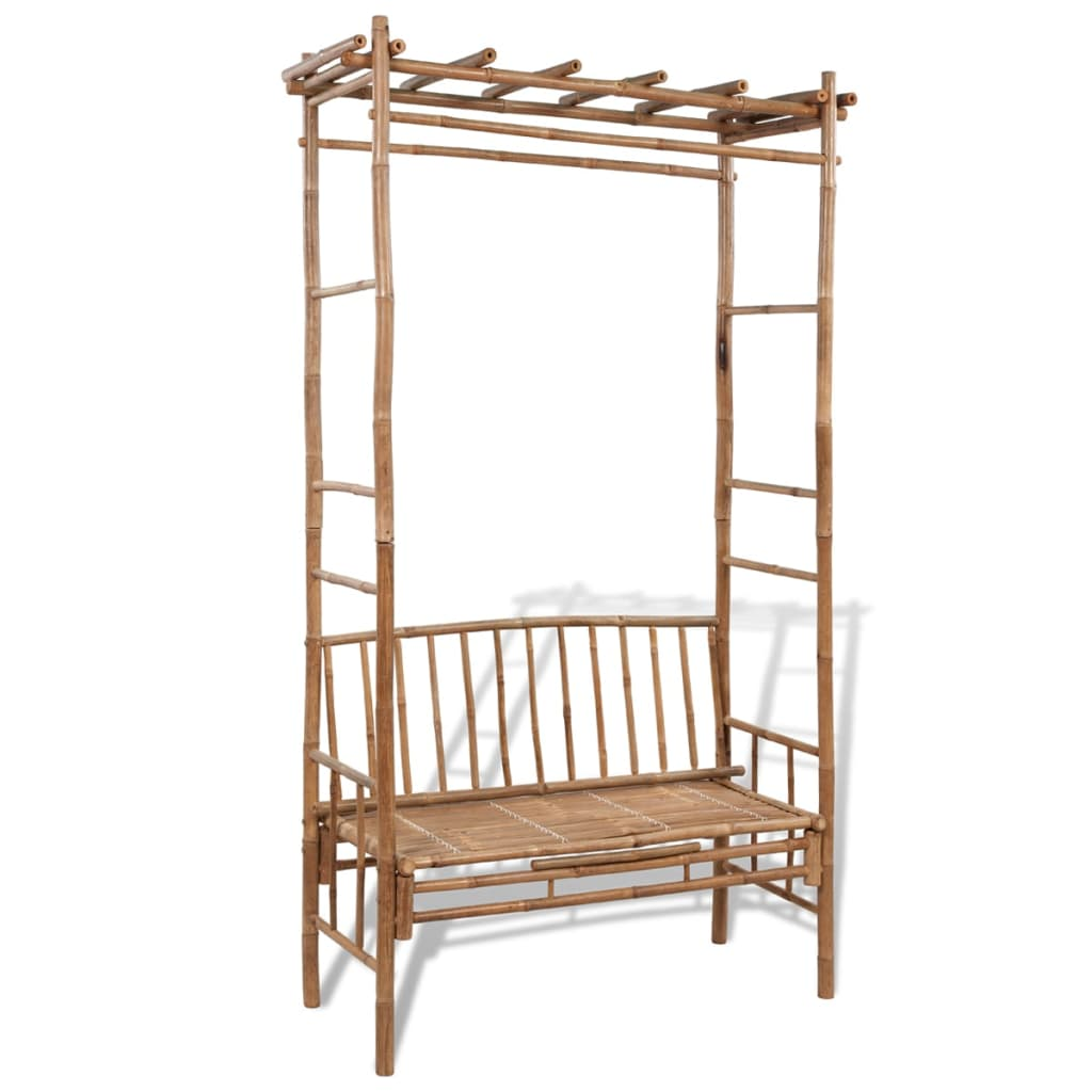 garden arbour seat pergola trellis wood arch bench corner patio outdoor flowers ebay. Black Bedroom Furniture Sets. Home Design Ideas