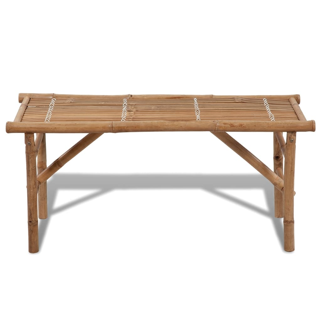 Vidaxl Bamboo Folding Bench