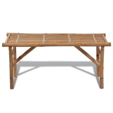 Sitzbank aus Bambus zusammenklappbar[2/4]