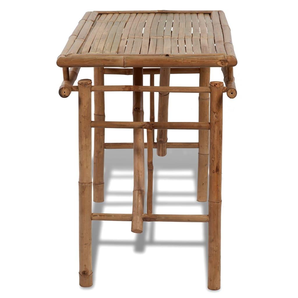 acheter table pliable en bambou pas cher. Black Bedroom Furniture Sets. Home Design Ideas