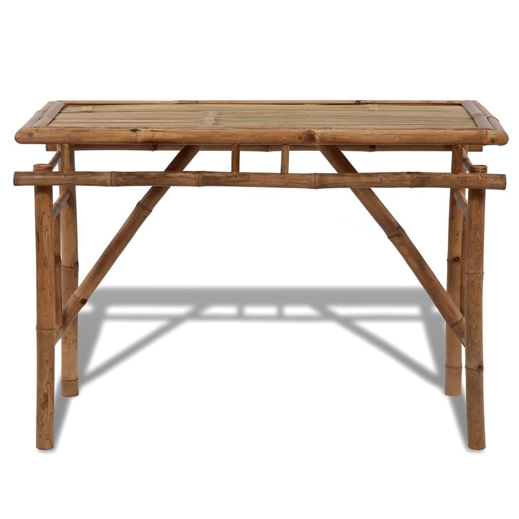Tavolo pieghevole in legno di bamb - Tavolo pieghevole in legno ...