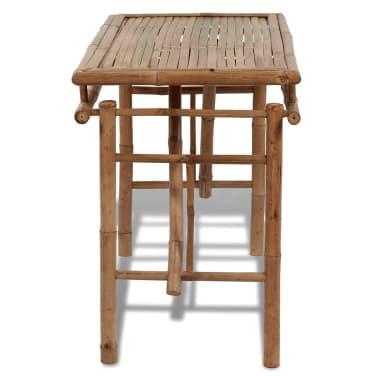 Picknicktisch aus Bambus zusammenklappbar[3/4]