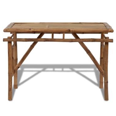 Picknicktisch aus Bambus zusammenklappbar[2/4]