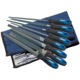 Draper Tools Eight Piece Engineer's File and Rasp Set 200 mm 44961
