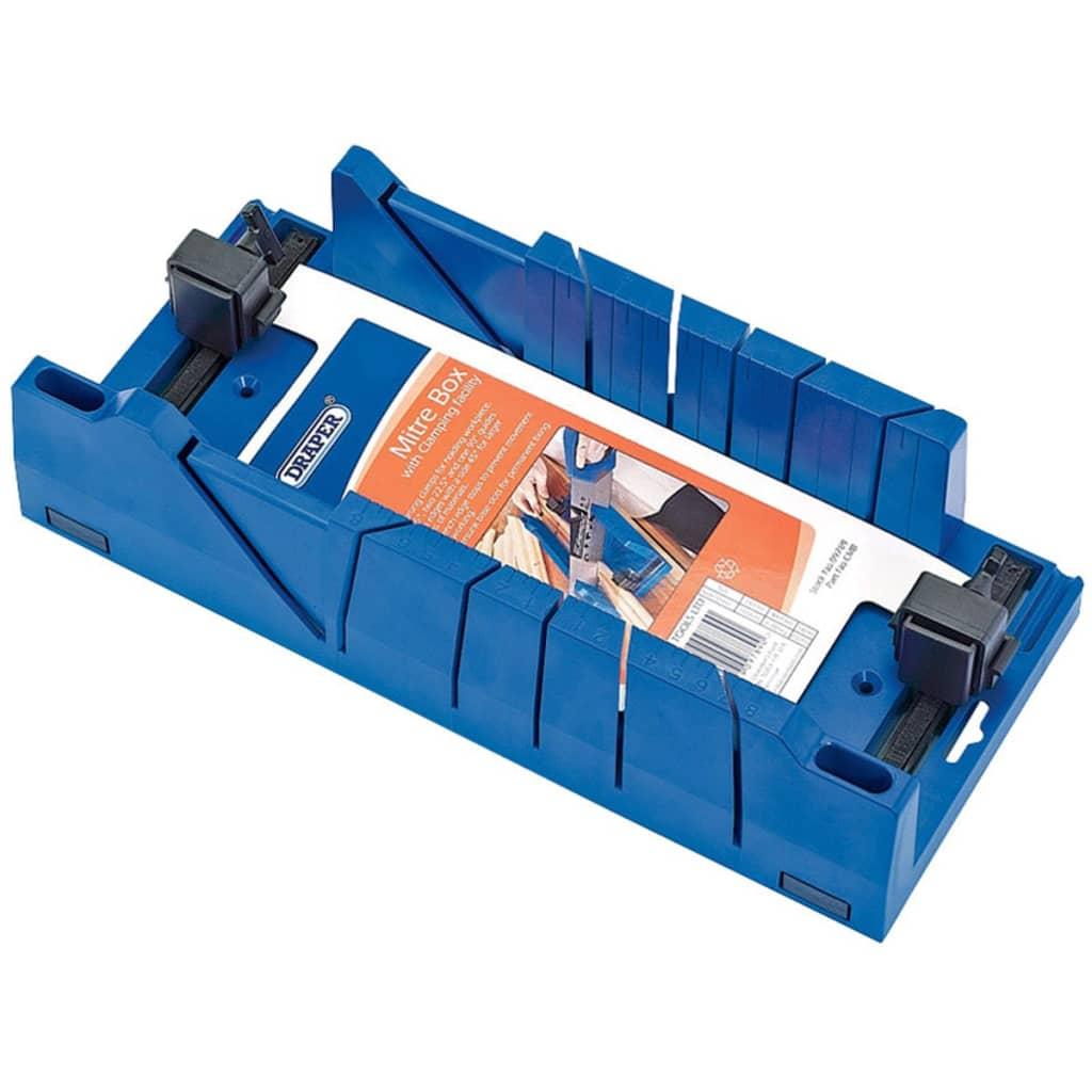Afbeelding van Draper Tools Expert Verstekbak met klemmen blauw 09789