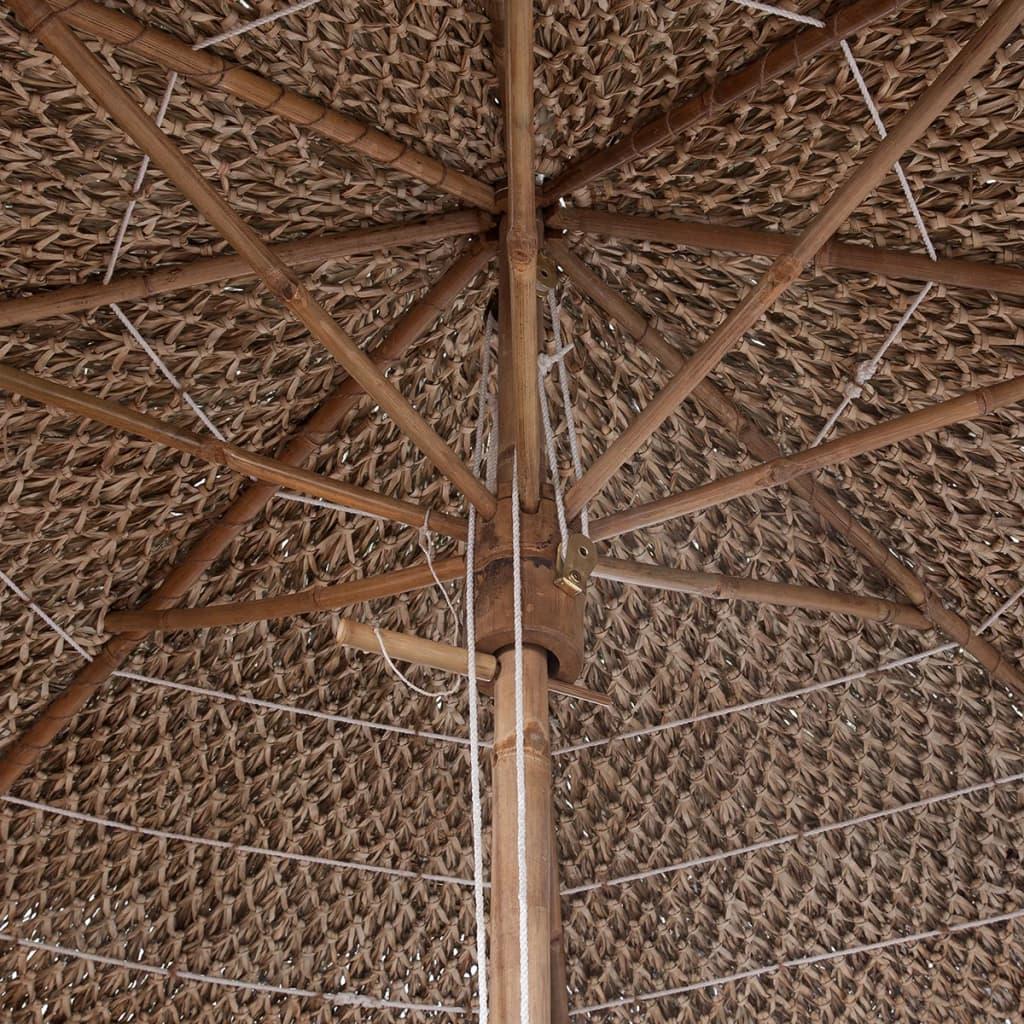 la boutique en ligne parasol en bambou avec toit en feuilles de bananier 270 cm. Black Bedroom Furniture Sets. Home Design Ideas