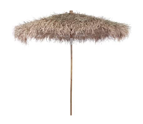sonnenschirm aus bambus mit banenbl tterdach 270 cm g nstig kaufen. Black Bedroom Furniture Sets. Home Design Ideas