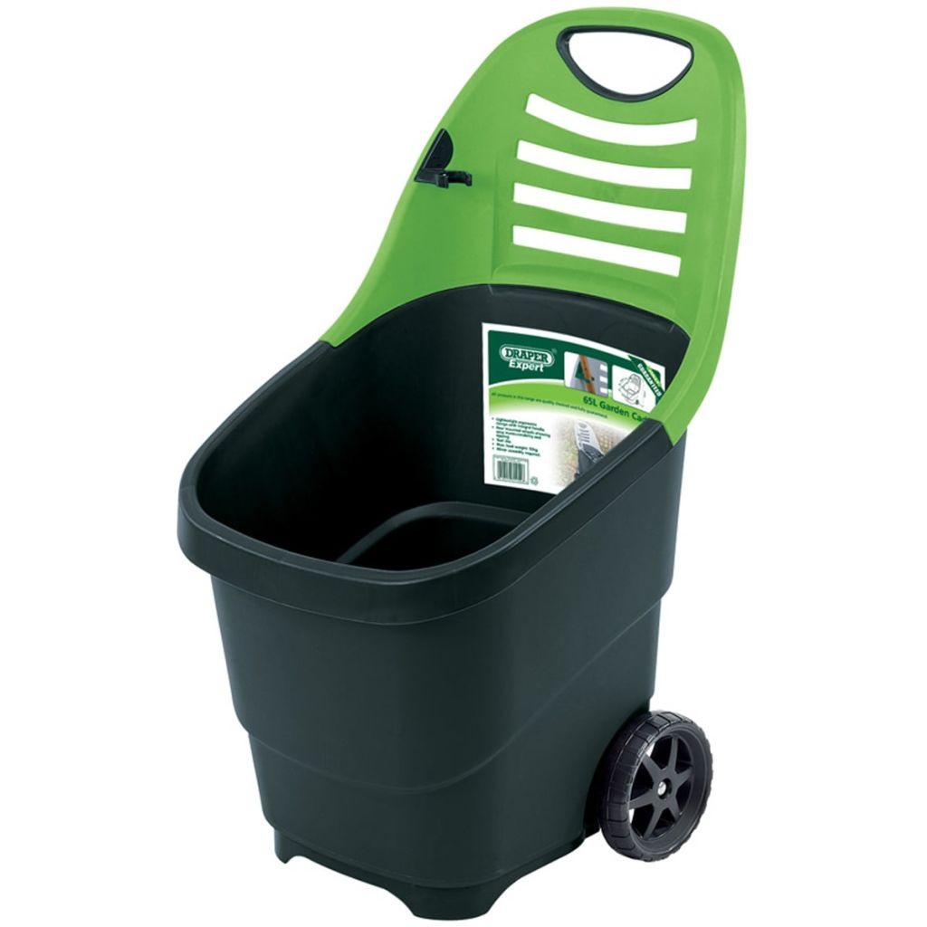 Afbeelding van Draper Tools Expert Tuintrolley groen 65 L 78643